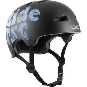 TSG Evolution Graphic Design Casco, nero/blu